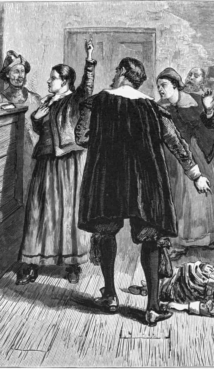 Today in History, The First Salem Witch Trial Executions took place (1692)