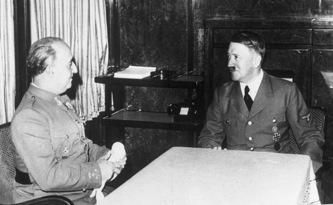 8 Treacherous Ways In Which Spain's Francisco Franco Supported The Axis Powers In The Second World War