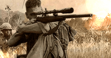 This US Sniper Crawled for 3 Days of Open Field, Killed NVA General & Came Back Without A Scratch