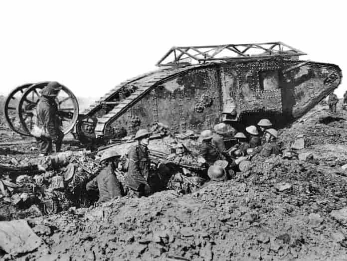 This Day In History: The First Tank Makes its Appearance (1915)