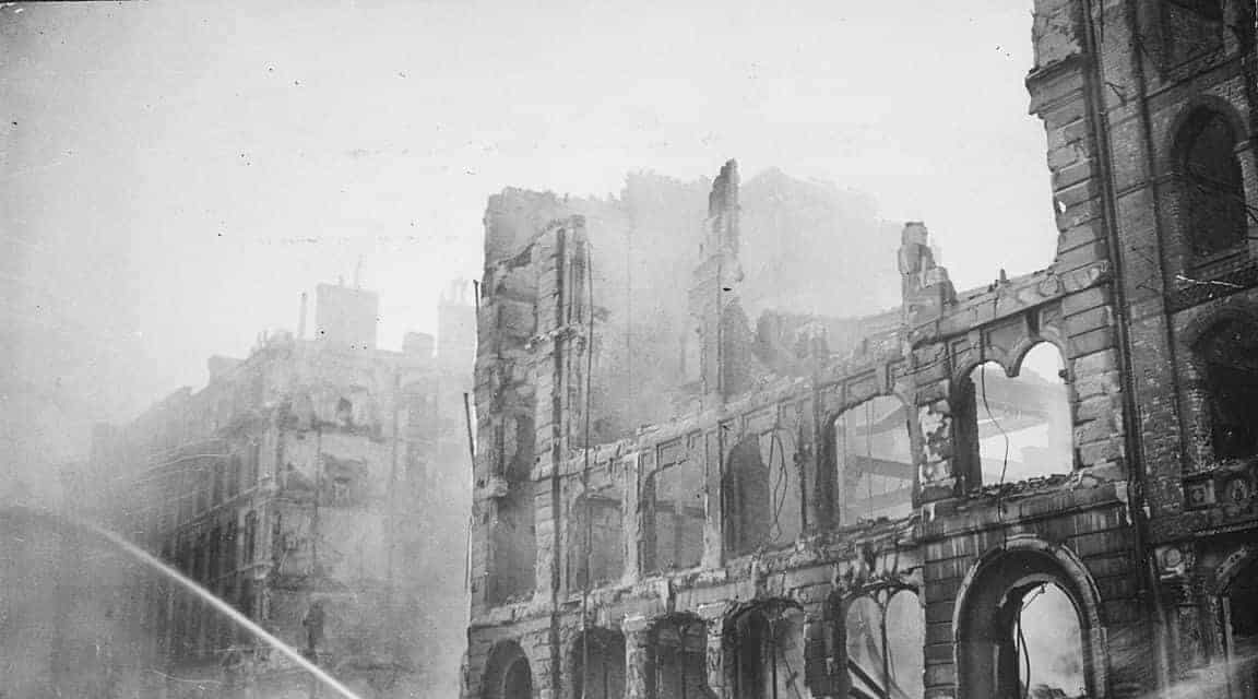 This Day In History: The Luftwaffe Heavily Bomb London (1940)