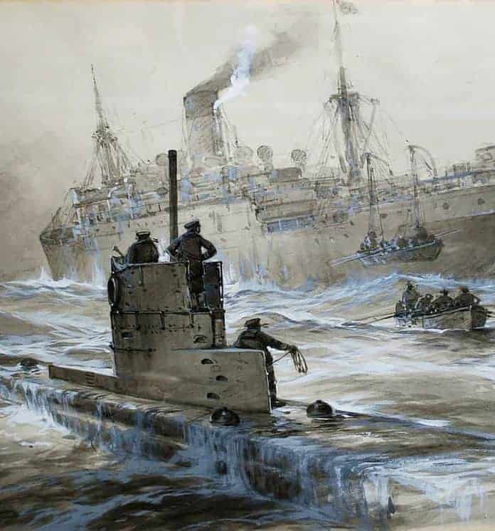This Day In History: The Germans Resume Unrestricted Submarine Warfare (1917)