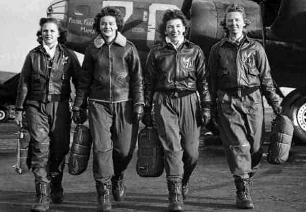 WASPs: Female Pilots Finally Receive Equal Rights in Death