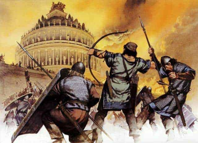 Today In History: Goths Attack The Praenestine Gate During The Siege Of Rome (537)