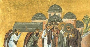 Today In History:  The Bones of Nicephorus are Interred in Constantinople (847)