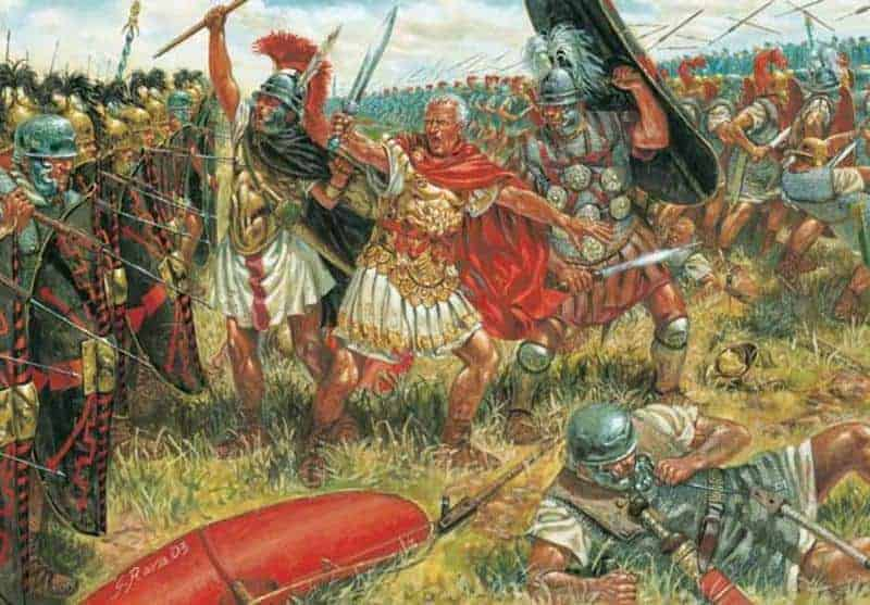 Today In History: Julius Caesar Defeats The Pompeian Forces in His Final Victory (45 BC)