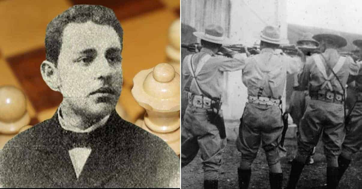 Lined Up For The Firing Squad, This Chess Master Was Offered To Play a Game of Chess For His Life