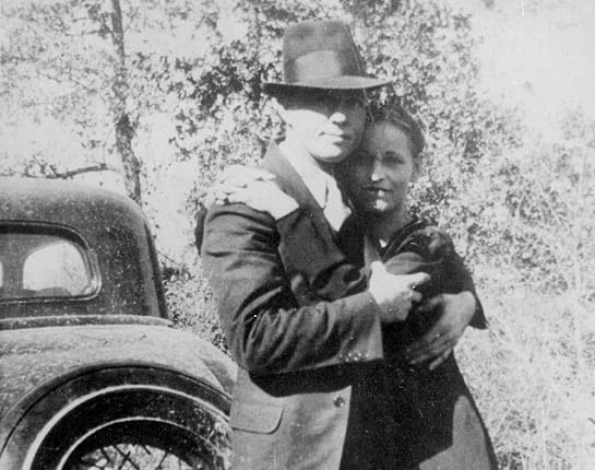 Bonnie clyde killed and 'The Highwaymen'