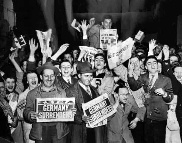 Today in History: V-E Day Ends World War II in Europe (1945)