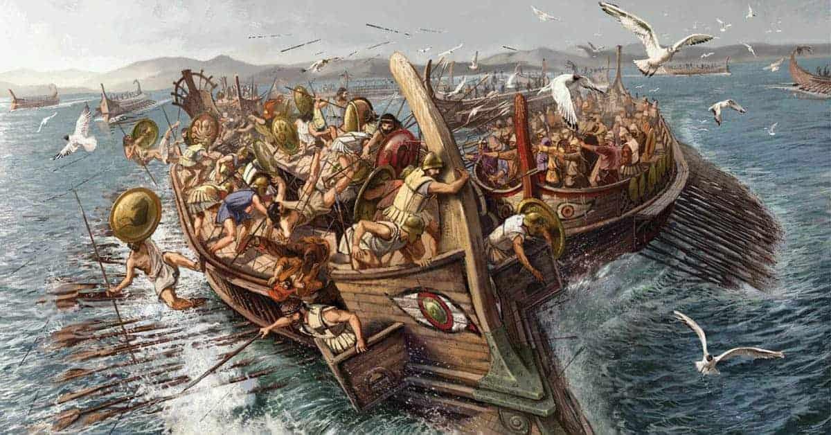 Ancient Ocean Wars: 6 Incredible Naval Battles