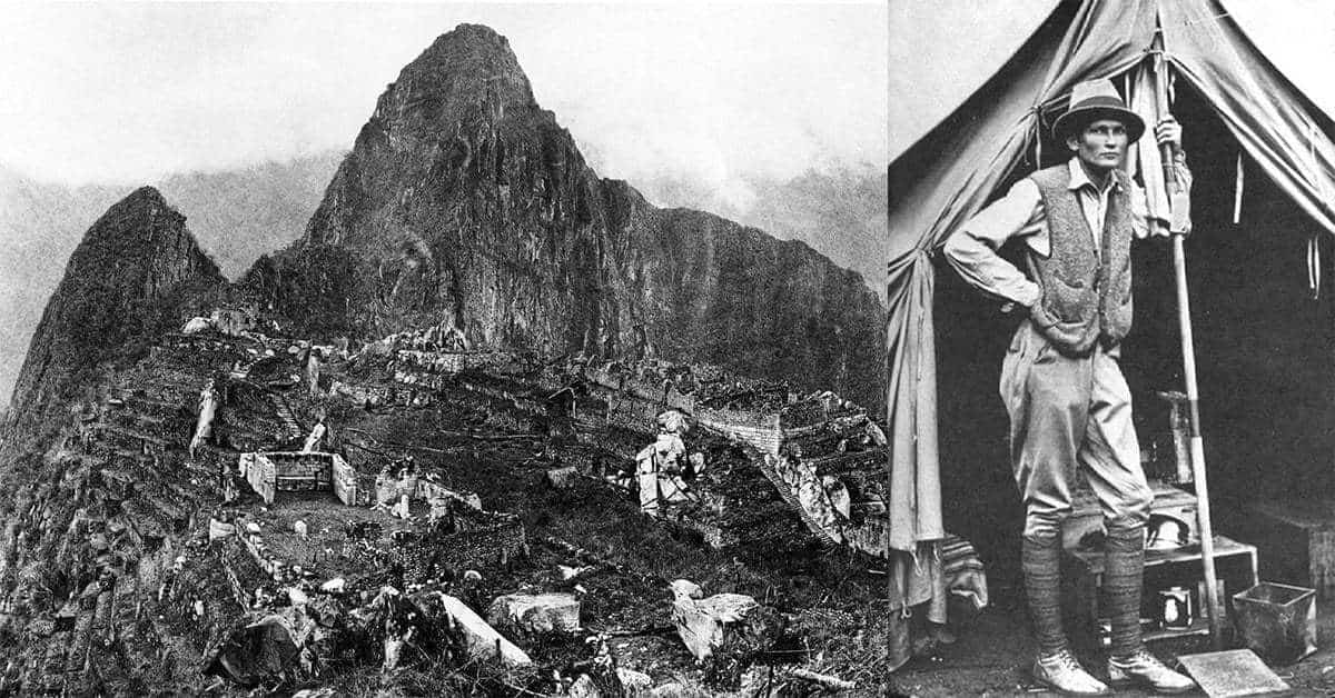 21 Striking Photographs of the Machu Picchu Discovery