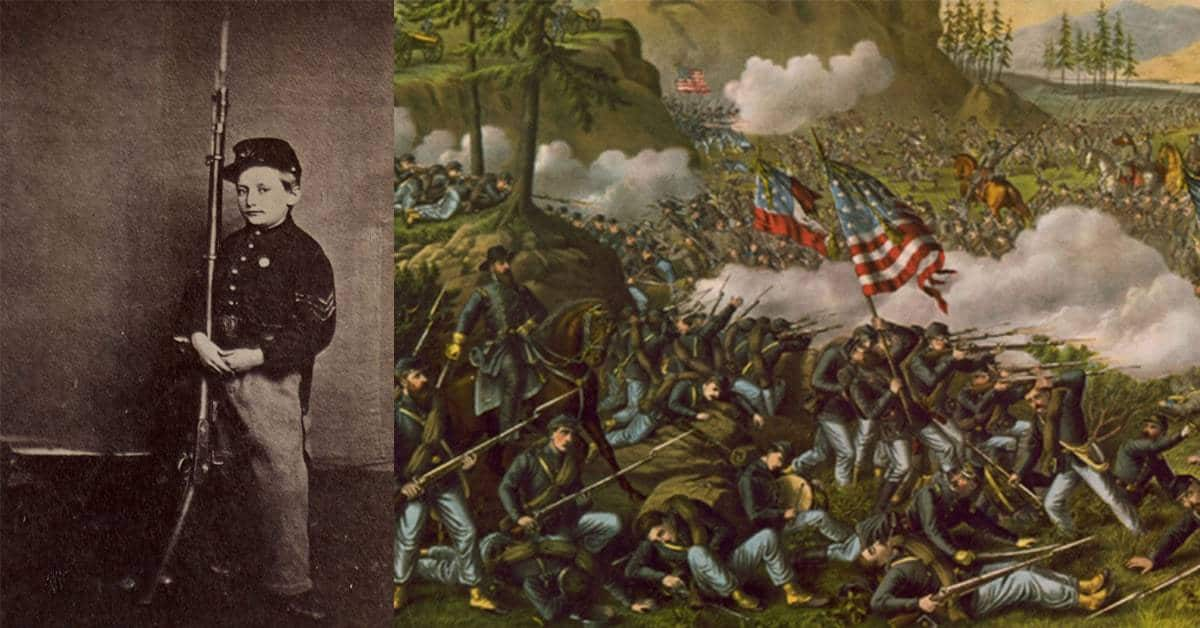 The Incredible Story of the 12-Year Old Civil War Hero