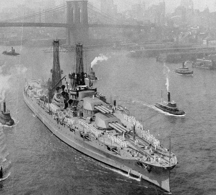 37 Photographs of the Historic USS Pennsylvania Battleship