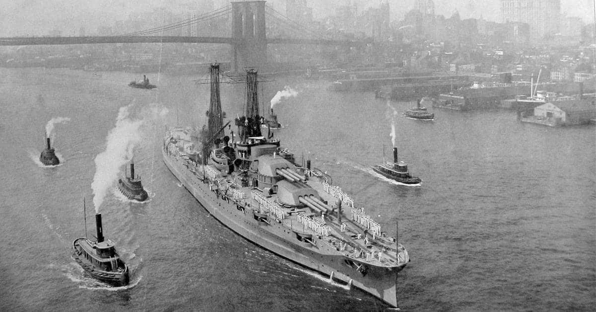 37 Photographs of the Historic USS Pennsylvania Battleship