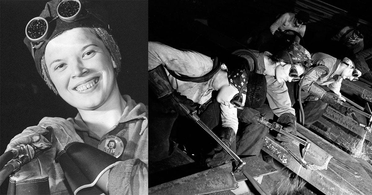 Photographs of the Unsung Heroes of World War II