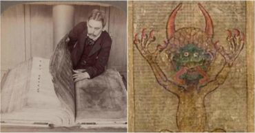 The Devil is in the Details: Medieval Devil's Bible Contains Portrait of Satan Himself