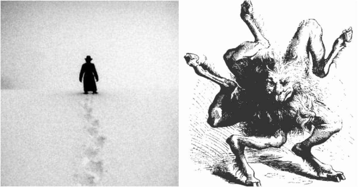 The Dark Prints: The Baffling Mystery of the Devil's Footprints