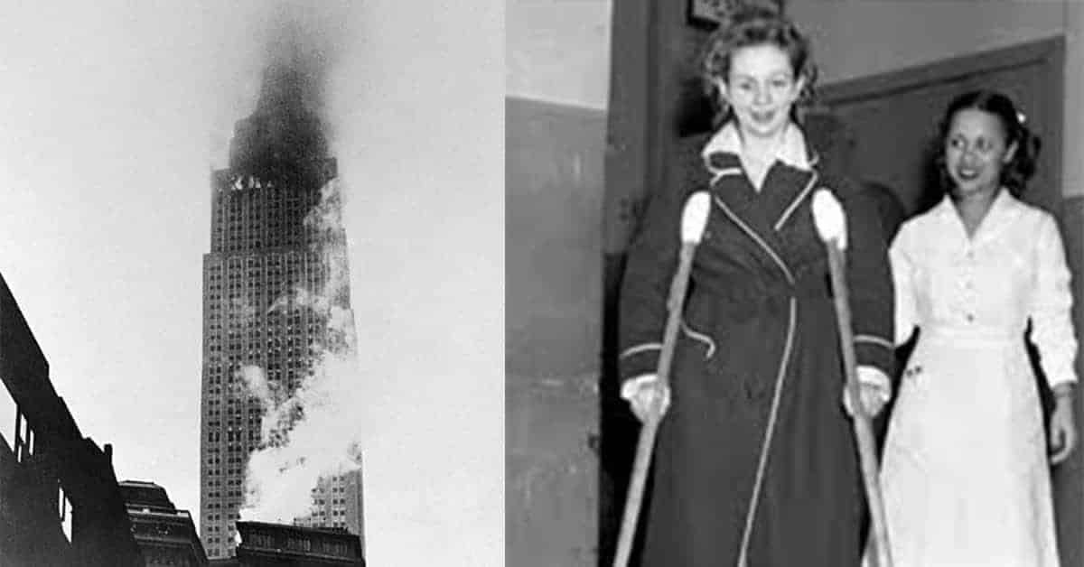 This Woman Cheated Death Twice on the Same Day After a 1945 Disaster