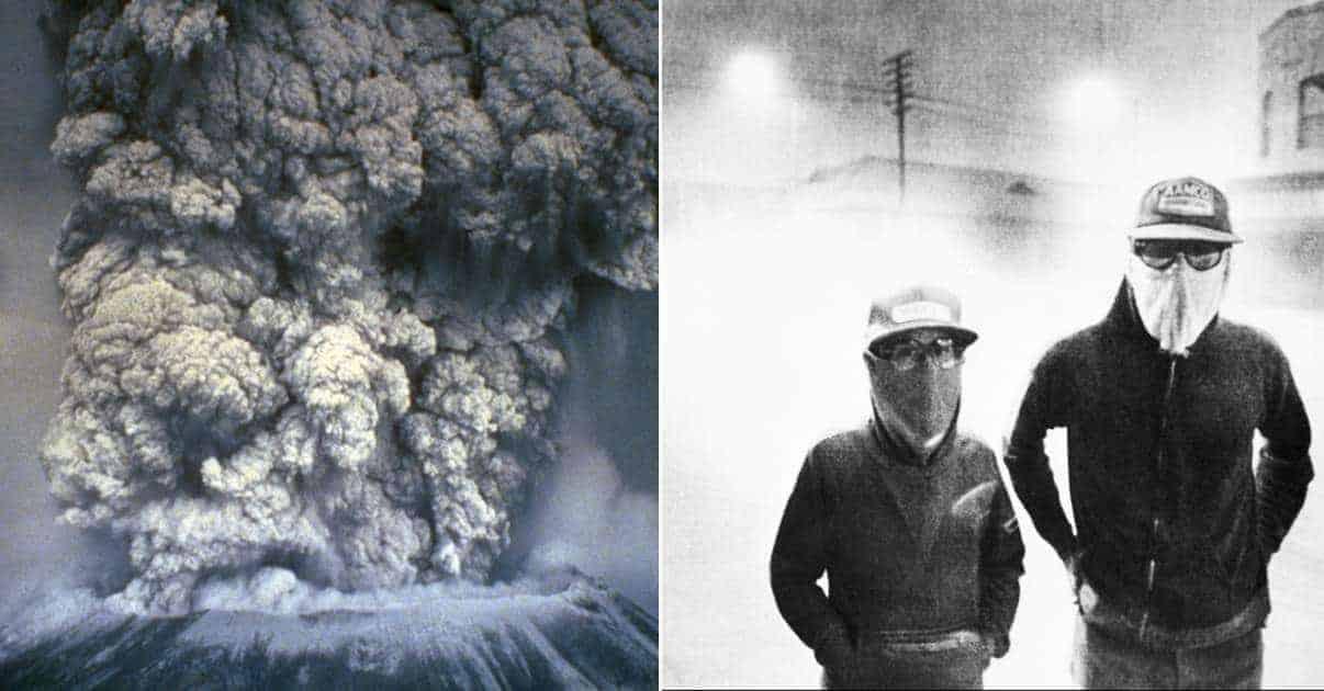 Living Nightmare of Mount St. Helen Eruption Uncovered in Unbelievable Photos