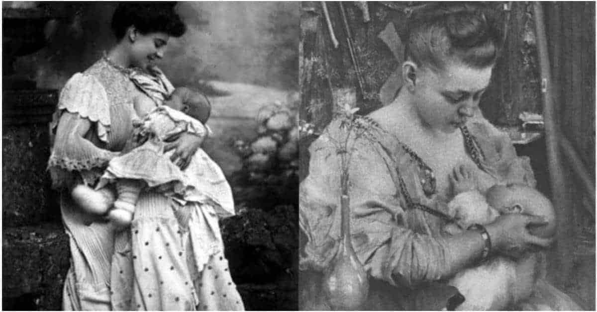 Treasured to Taboo: 30 Rare Glimpses of Victorian Mothers Breastfeeding