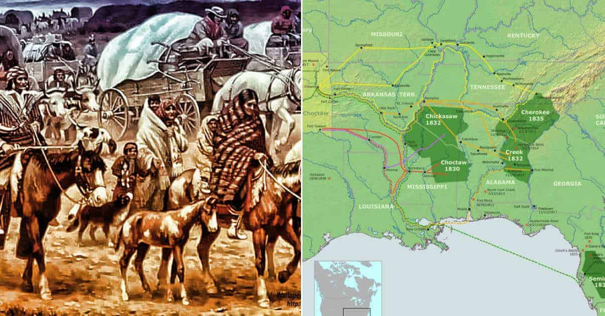 10 Misunderstood Facts on the Trail of Tears History Books Don't Cover