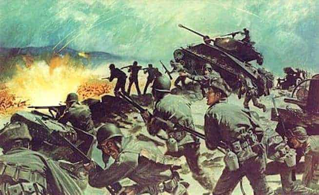 How American and French Troops Held Off A Chinese Force Five Times Their Size in this Epic Battle