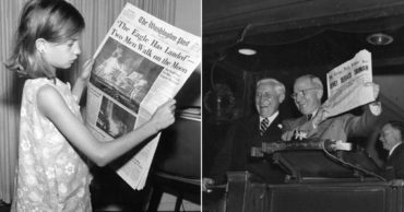 10 Archival Newspaper Headlines that Transport You Back to Major Historical Moments