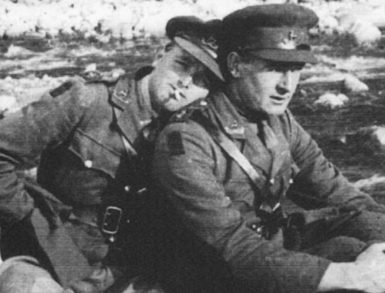 In WWII, Two Gay Soldiers' Forbidden Romance Lives On In Their Love Letters