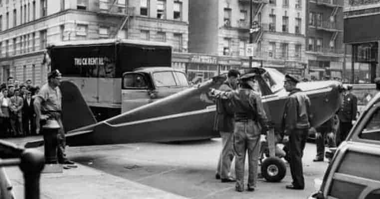 Thomas Fitzpatrick Landed A Plane on the Streets of New York While Drunk