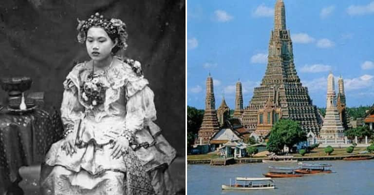 The Young Queen Sunandha Died From Drowning Because the Law Forbade Anybody to Touch Her By Pain of Death