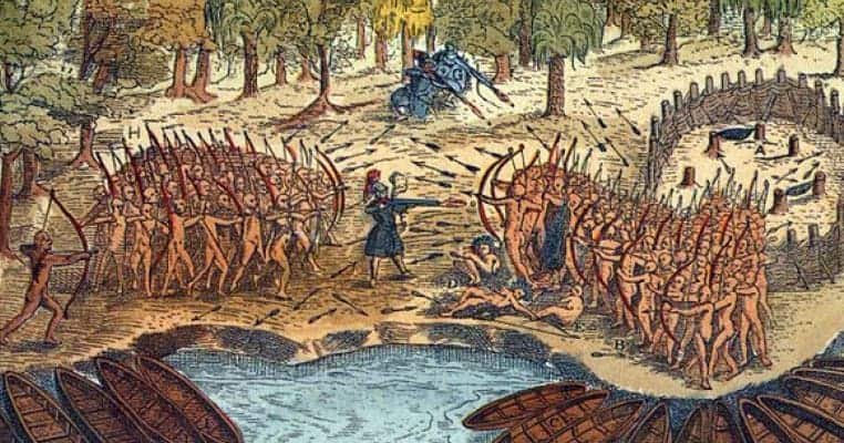 Mohawk Indians Kidnapped and Tortured a Jesuit Priest in New France for His Spread of Magic