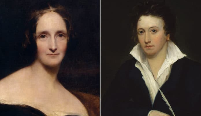 Rumor Has It That Mary Shelley Kept her Dead Husband's Heart in her Desk for 30 years