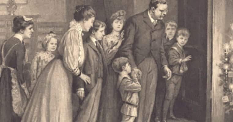 Teddy Roosevelt's Kids Saved Christmas As We Know It
