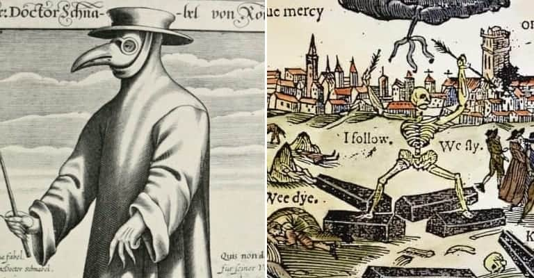Thousands Died From the Black Death in 1666, Leaving Behind Haunted Plague Pits in London