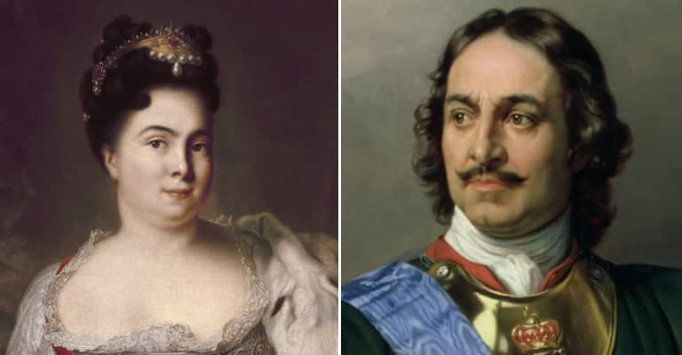 Peter the Great Pickled the Head of His Wife's Lover