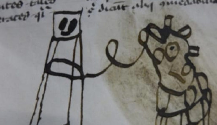 The Oddest Accidents We Have Found in Medieval Books
