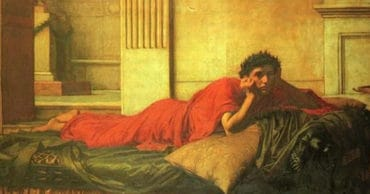 Emperor Nero Was So Terrified of Killing Himself, he Begged a Servant to Commit Suicide First