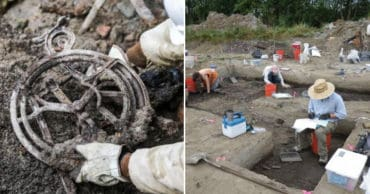 37 Historical Items Unearthed By Surprised Construction Workers