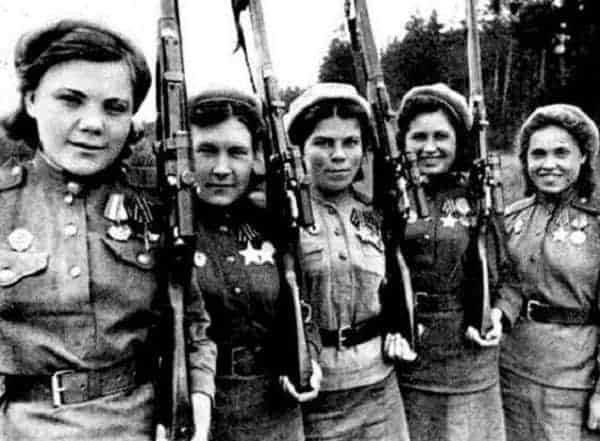 The Night Witches and Other Warrior Women of World War II
