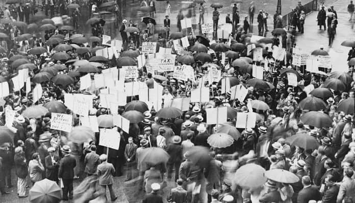 How Hoover and America Handled the Onset of the Great Depression