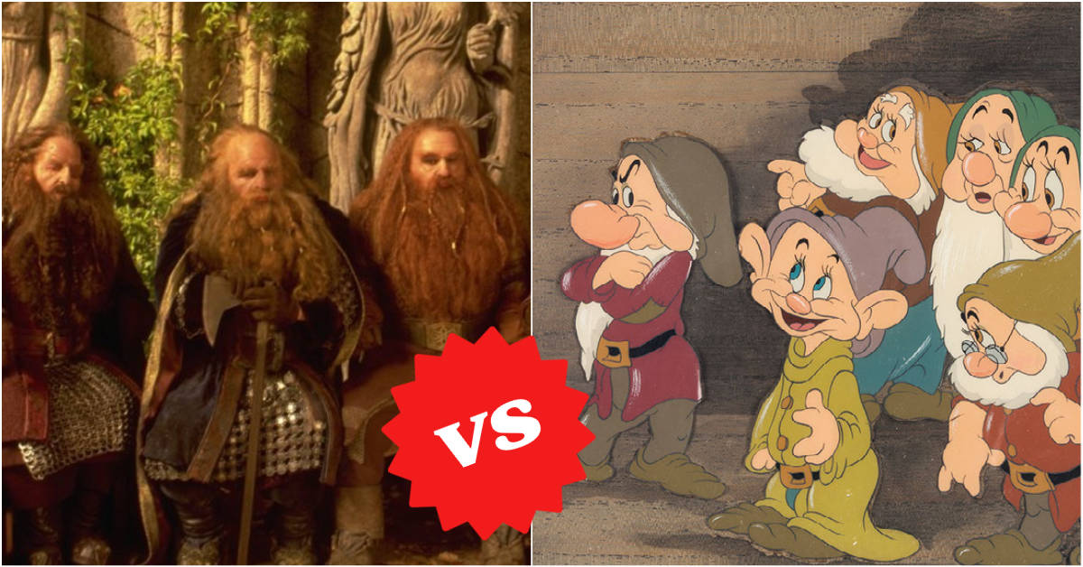 Tolkien VS. Disney and Other Major Historic Feuds